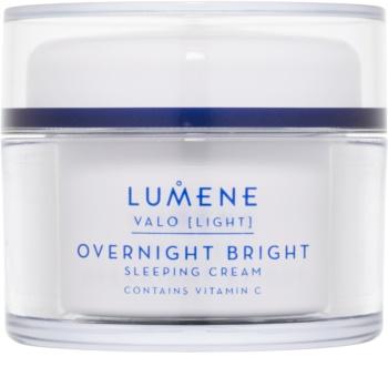 Lumene Valo [Light] Uppljusande nattkräm  med vitamin C